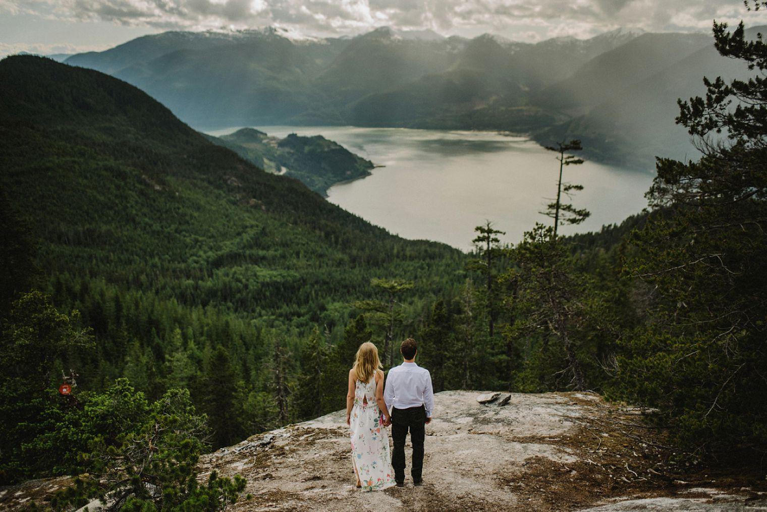 best squamish engagement photos