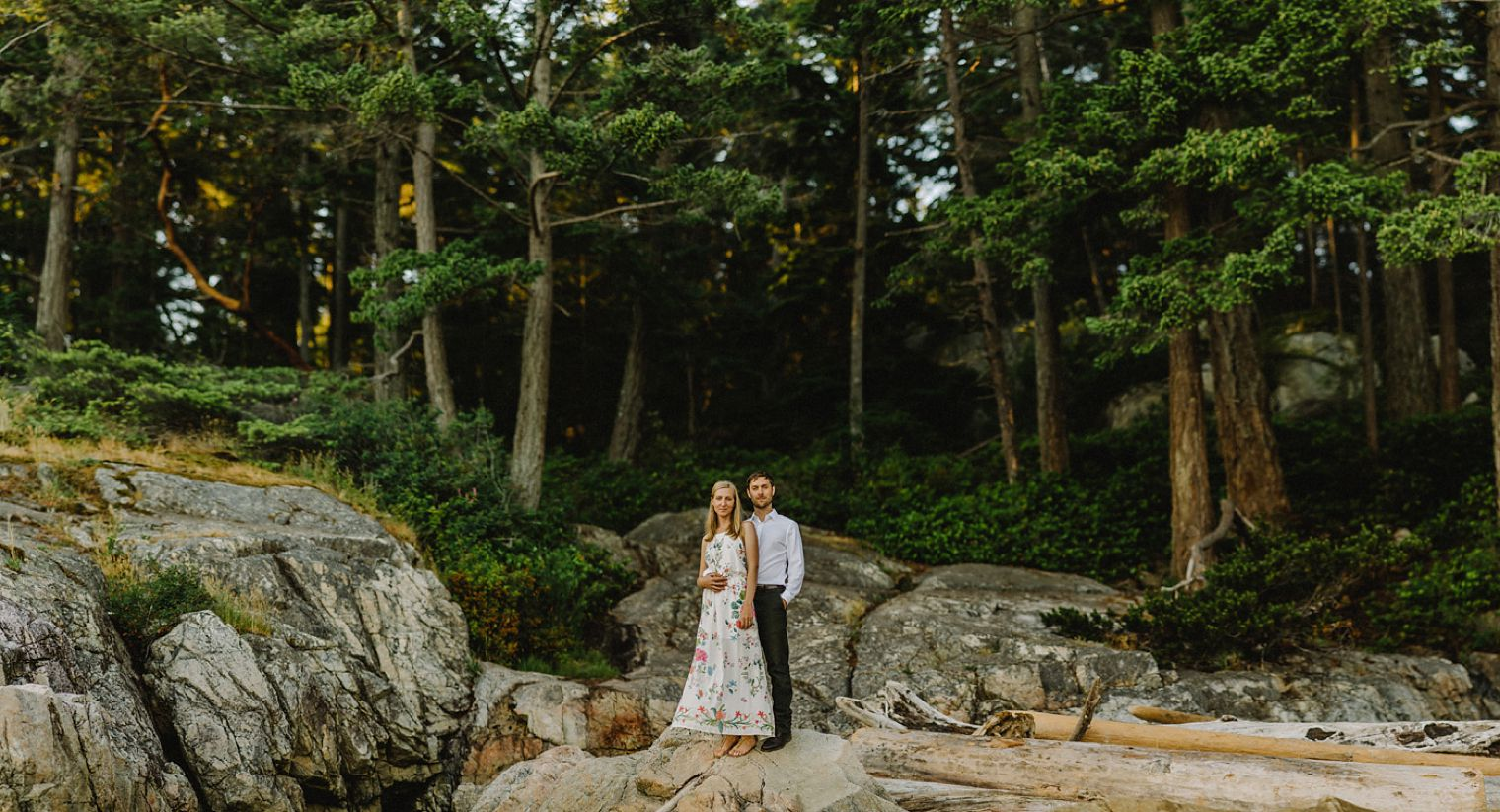 pacific northwest engagement session