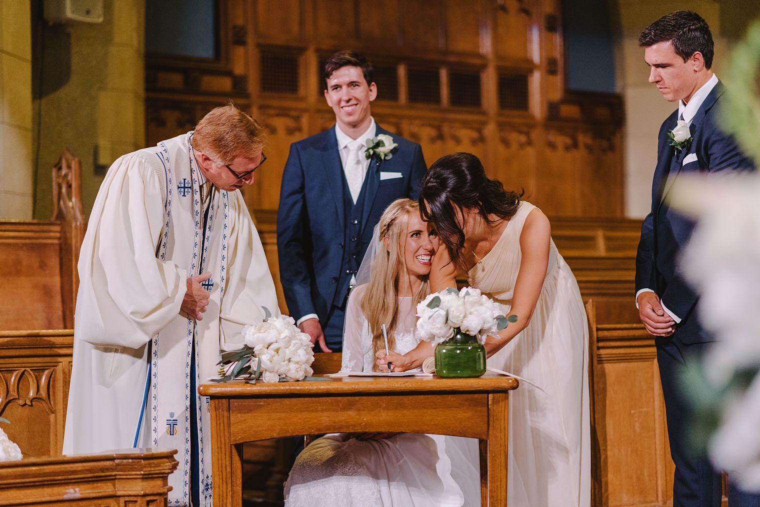 st andrews wesley church wedding