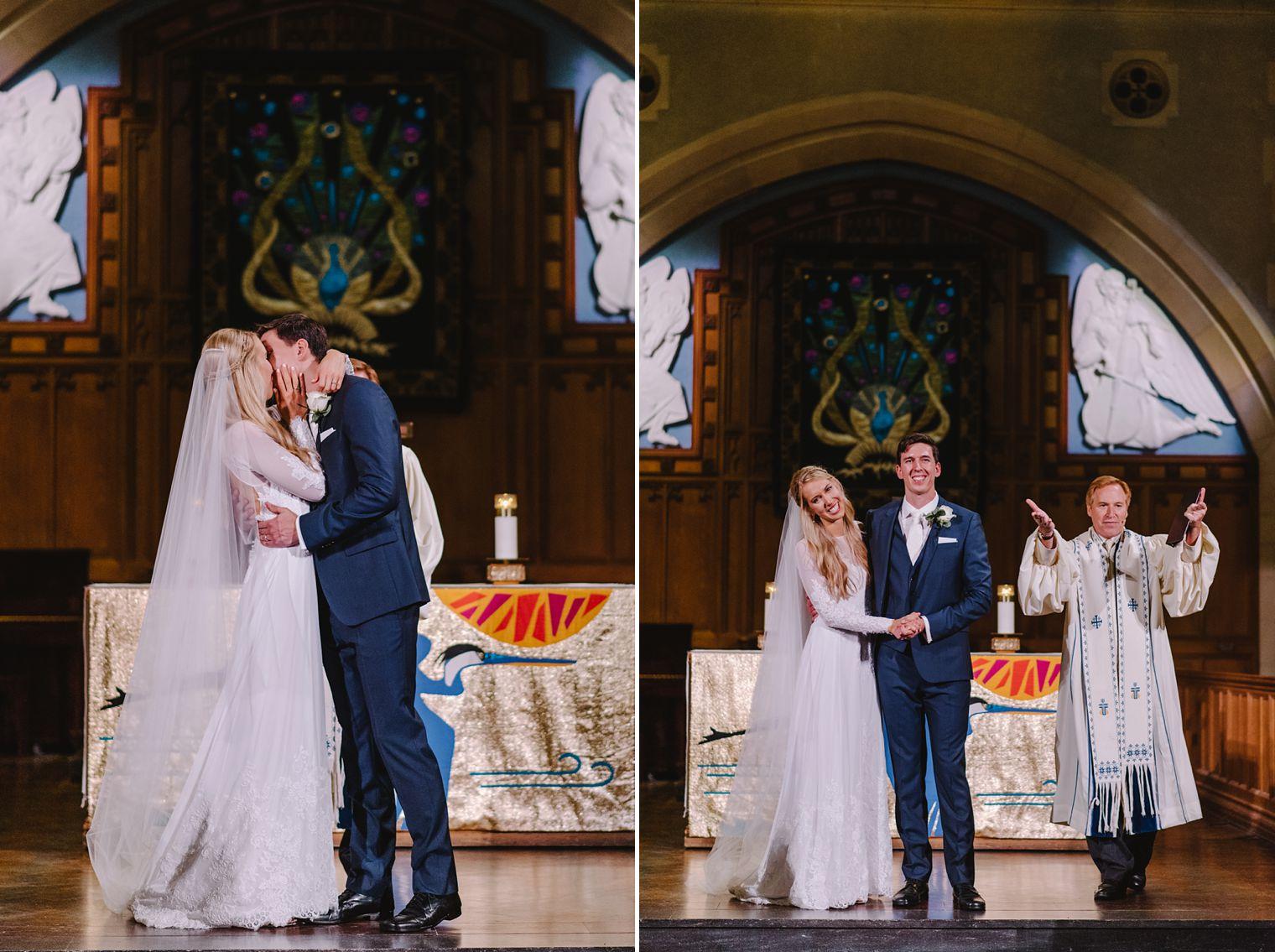 st andrews church ceremony wedding