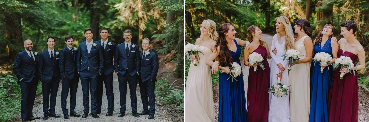 lost lake wedding portraits