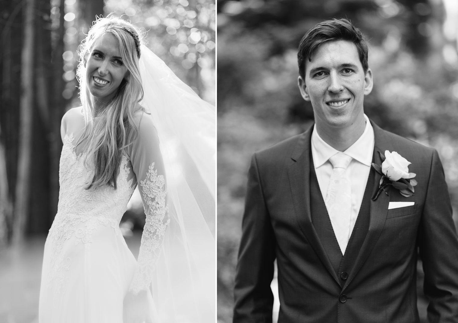best bride and groom wedding portrait