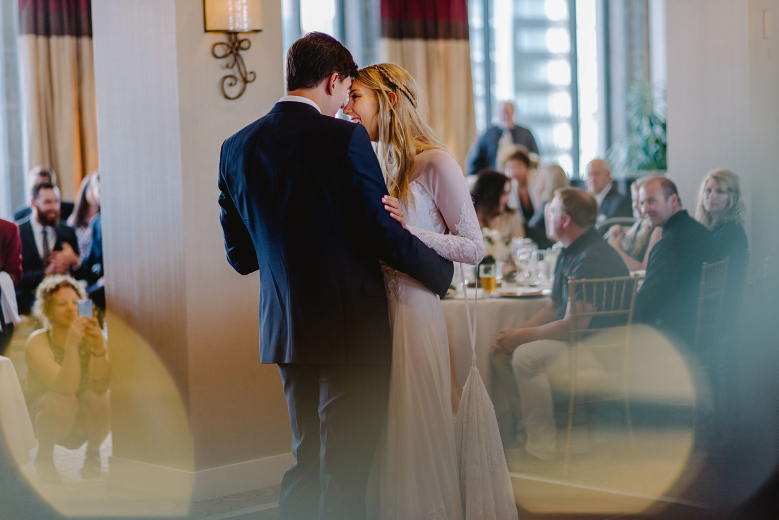 fairmont hotel vancouver wedding reception