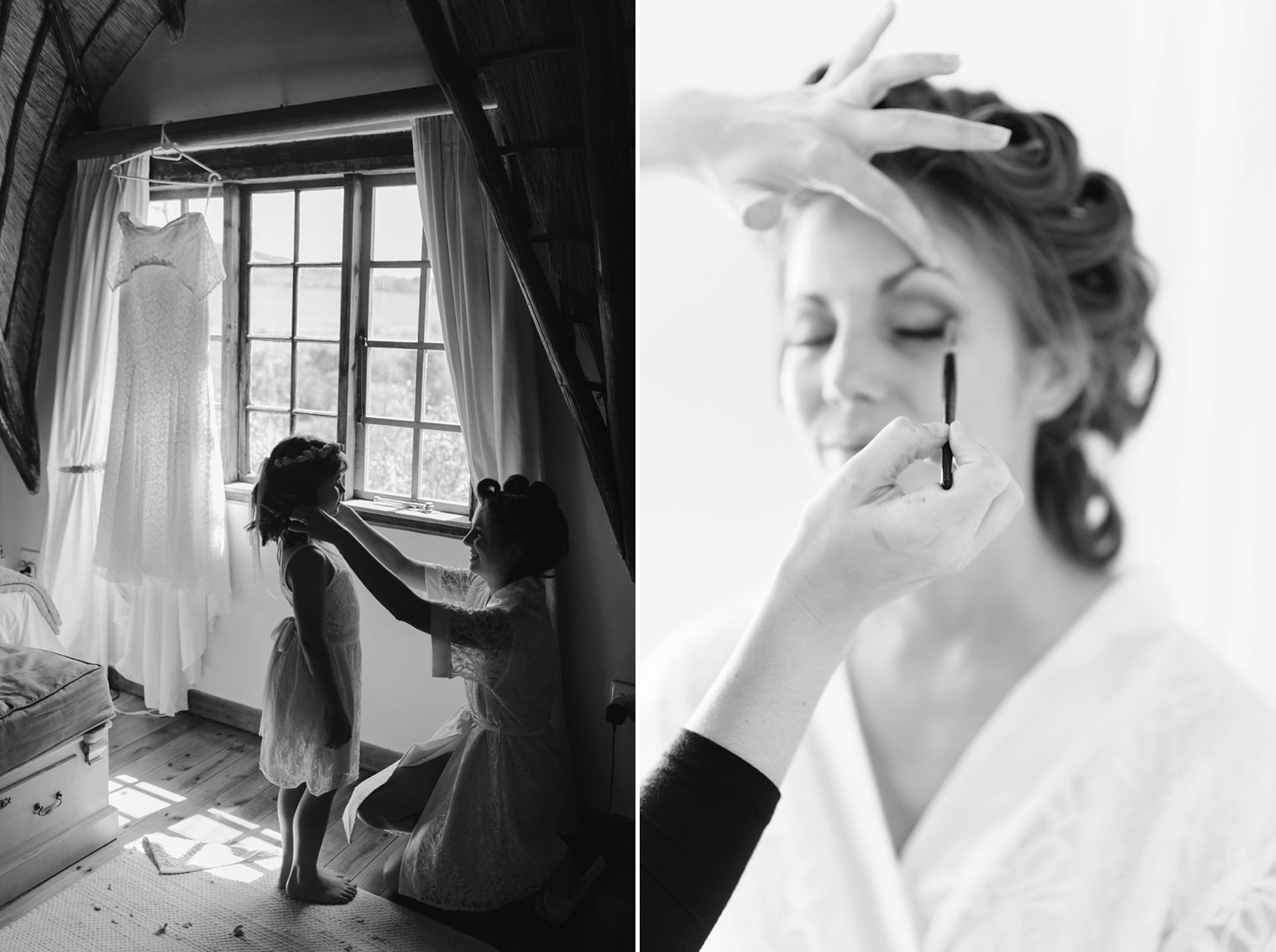black and white kzn wedding