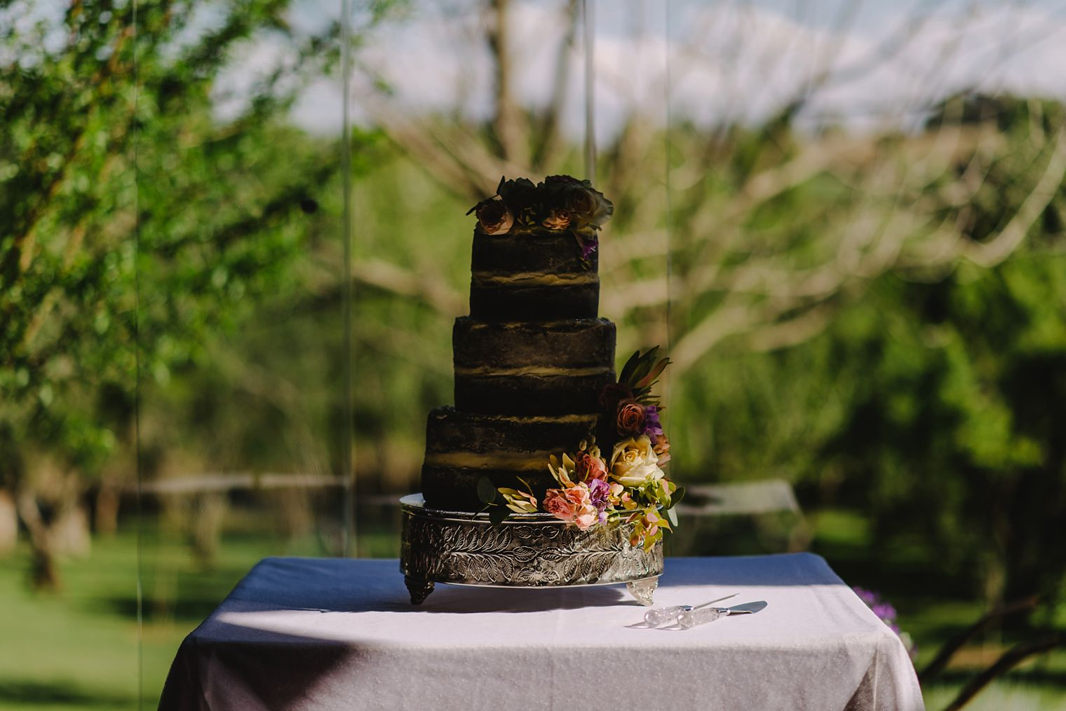 unique cape town wedding cake