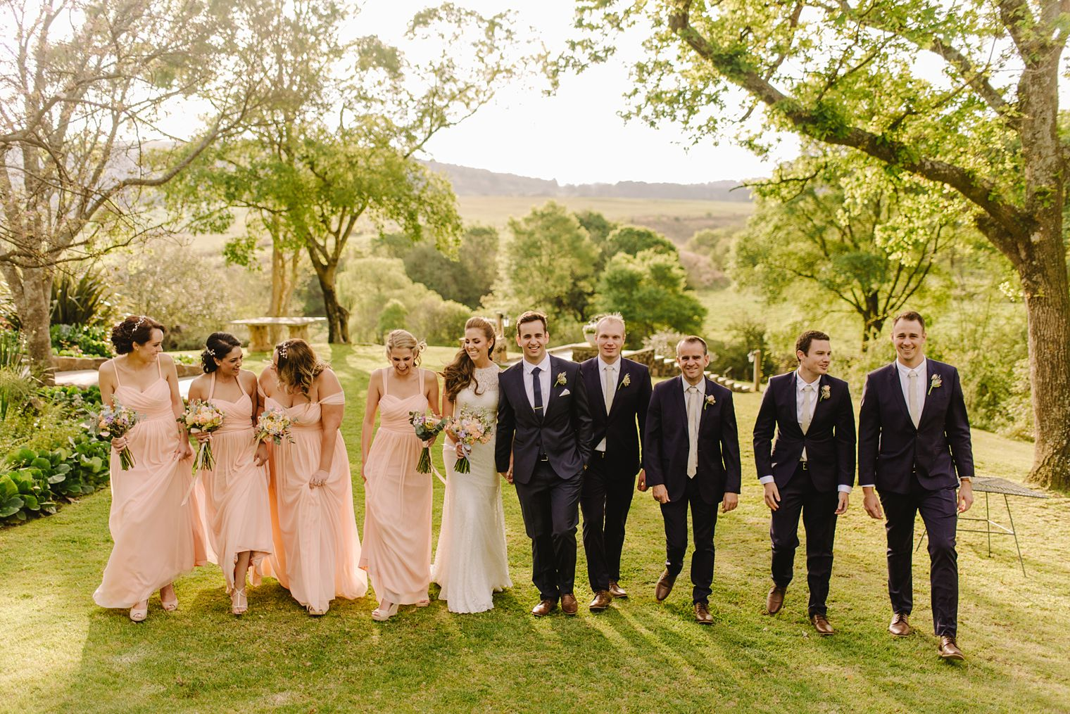 kzn wedding party photo