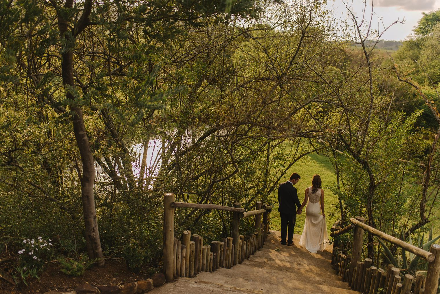 candid wedding portrait at orchards venue in kzn