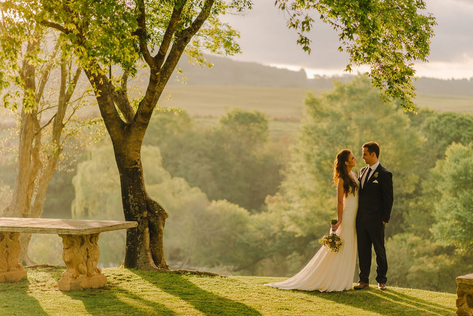 orchards wedding venue portrait