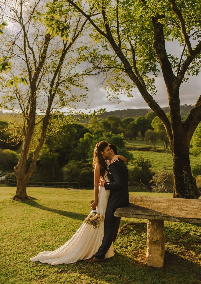 unique orchards wedding venue portrait