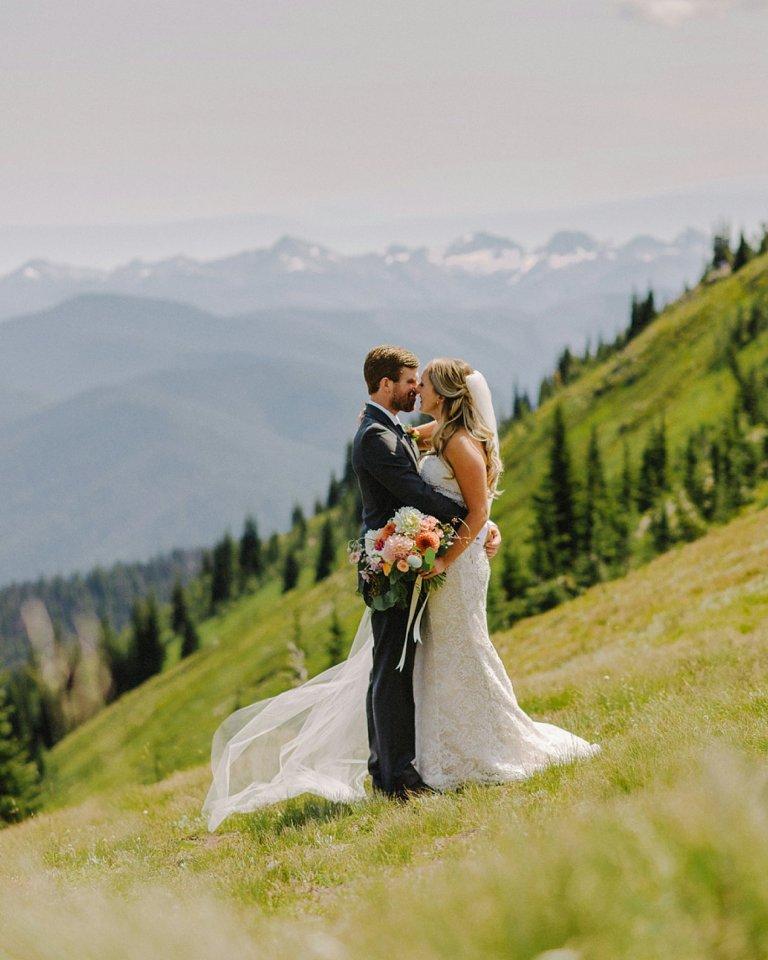 best manning park wedding portrait