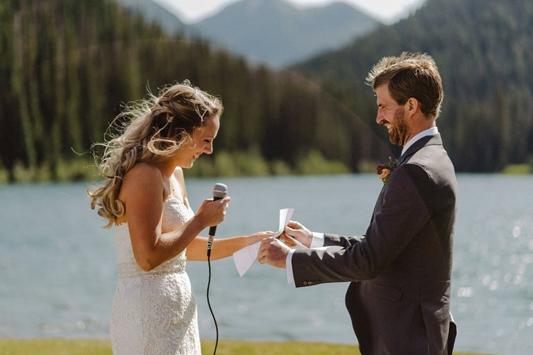 bc lakeside wedding