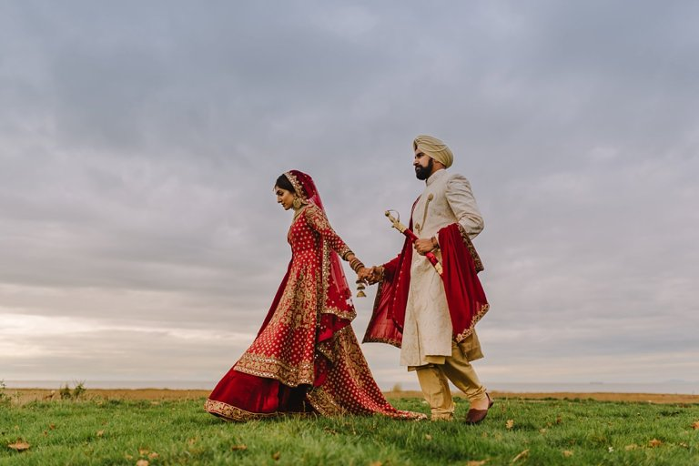 best vancouver indian wedding portraits
