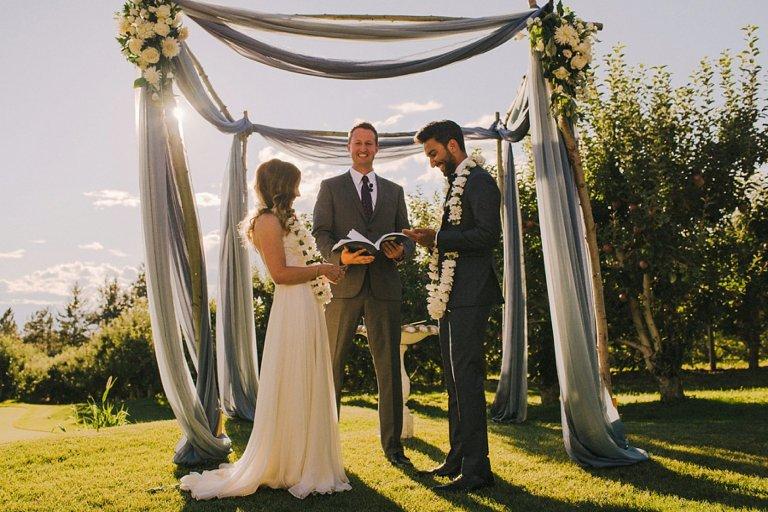 best kelowna wedding ceremony