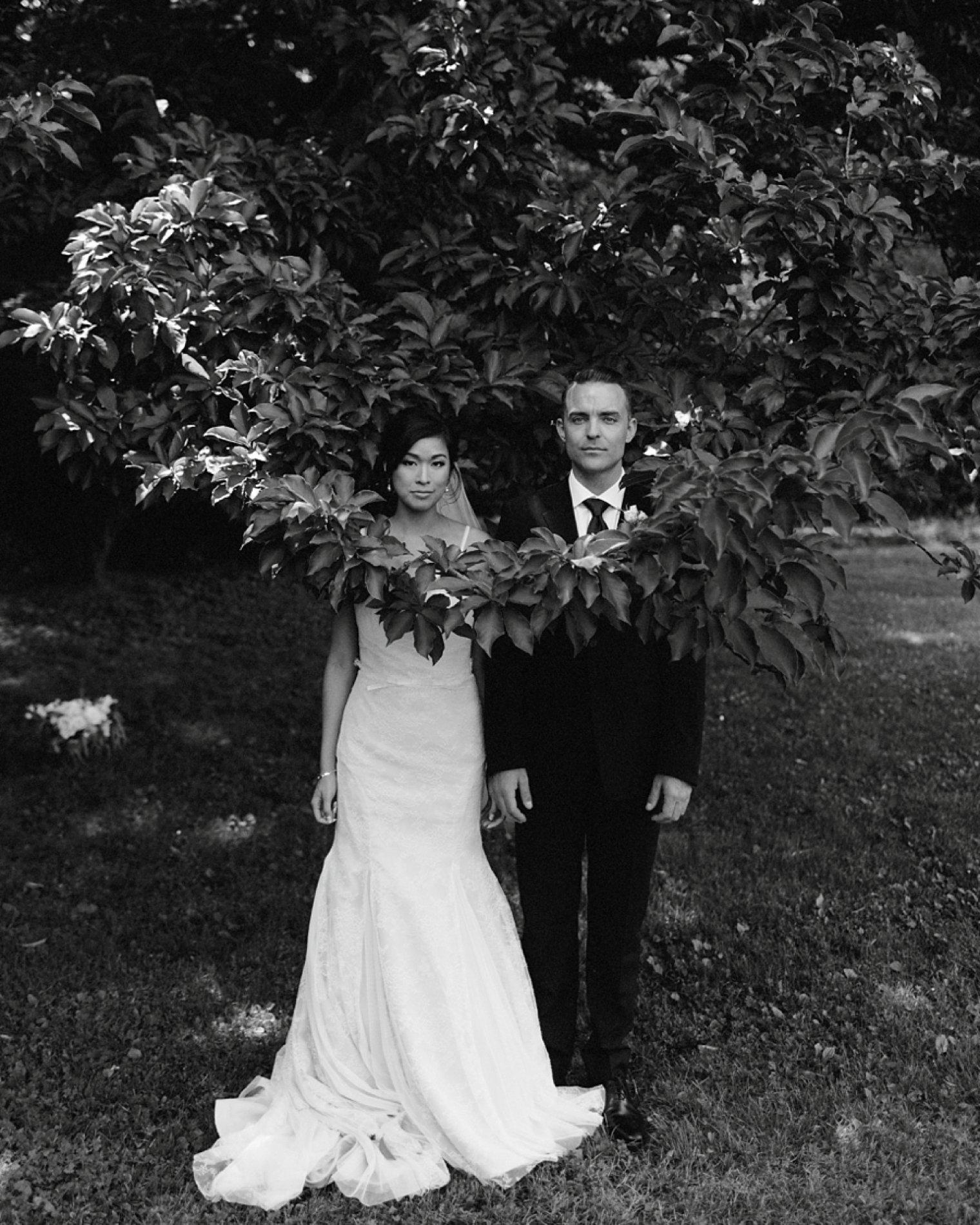 styled vancouver wedding portrait
