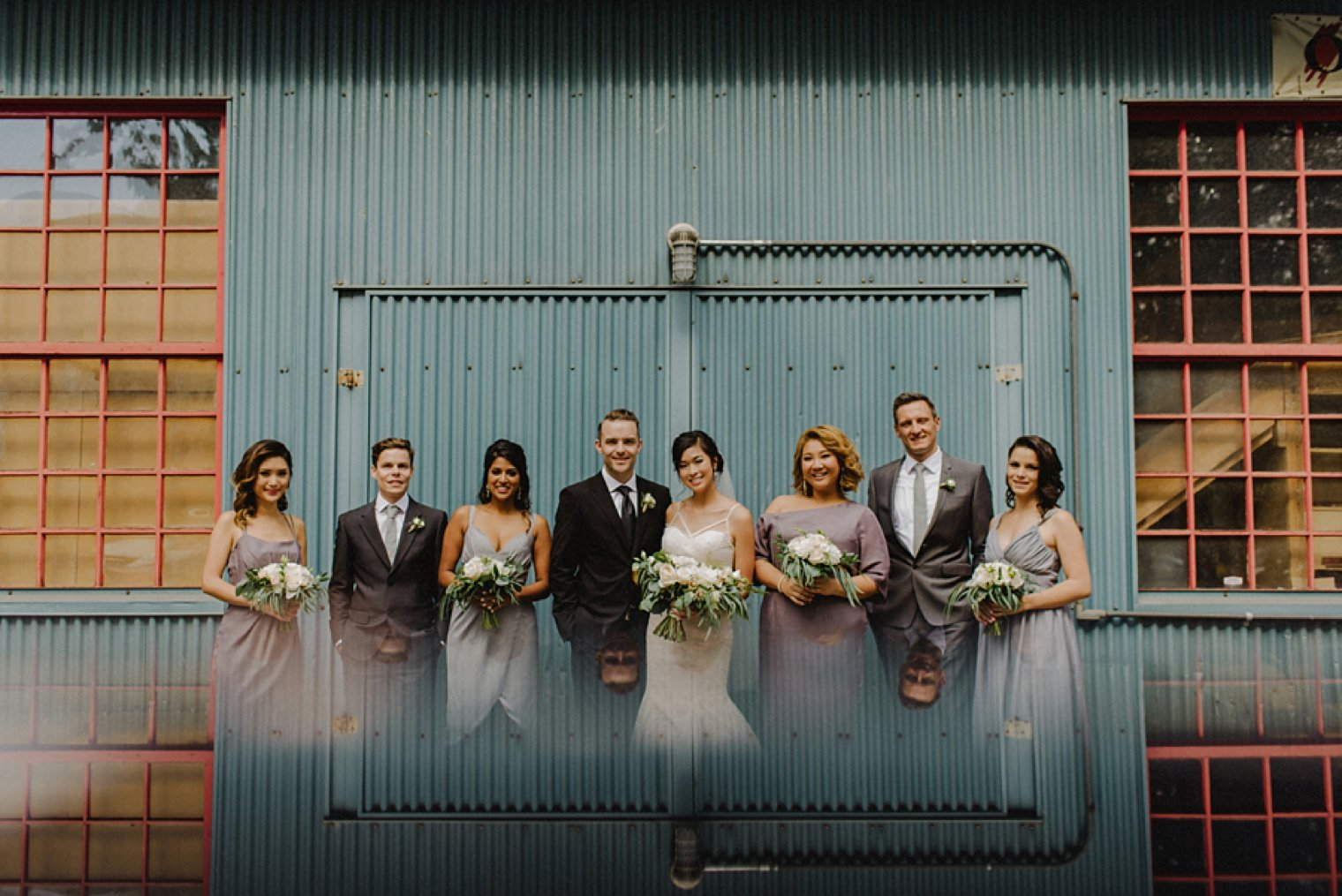 unique granville island wedding