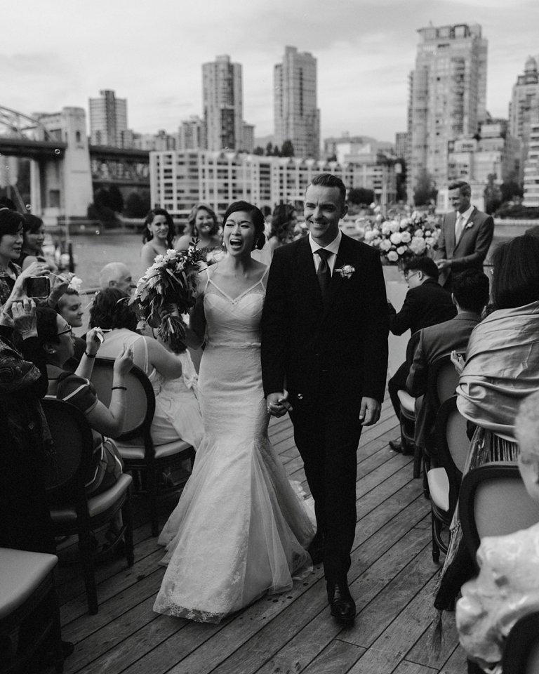 bridges restaurant wedding ceremony