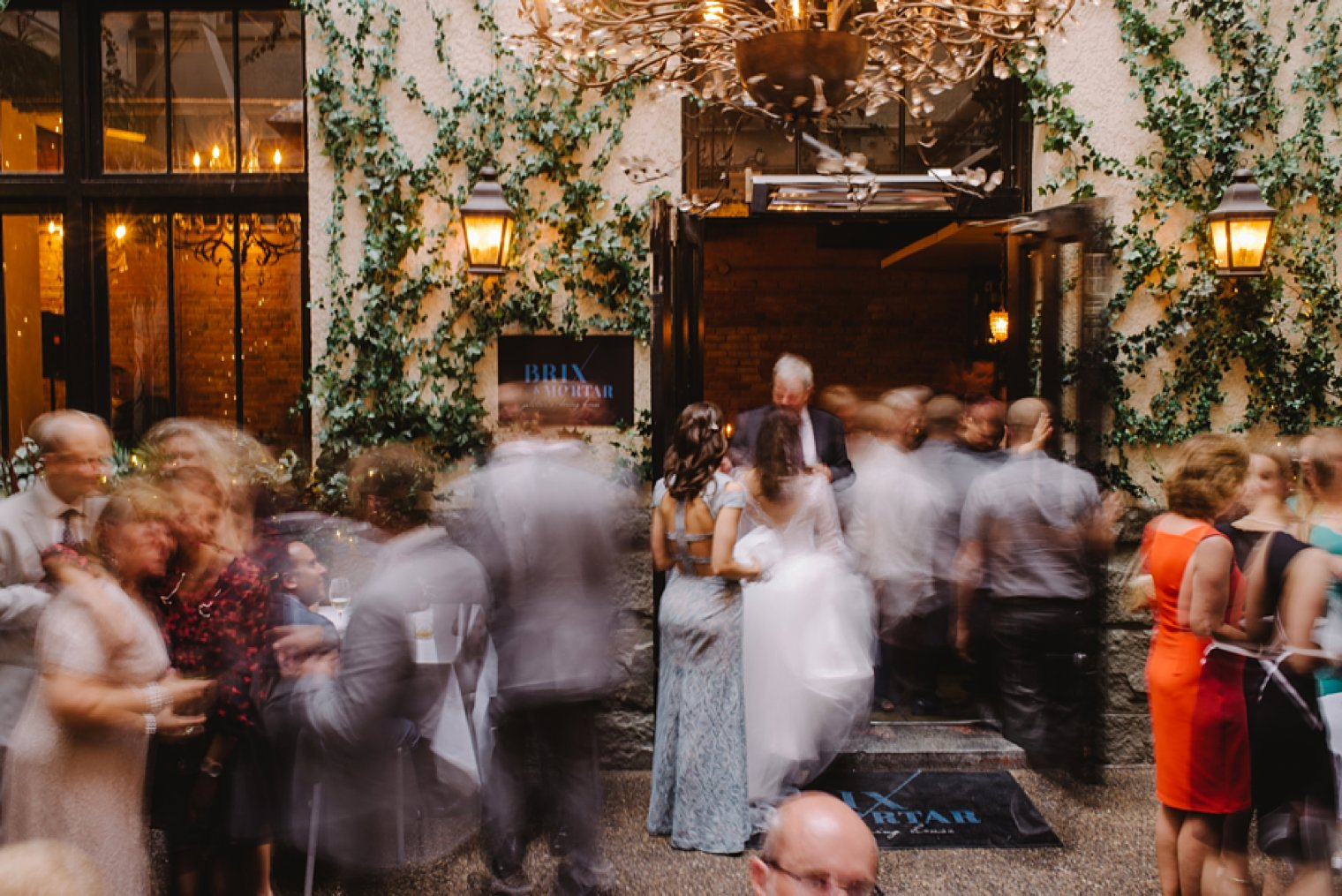 unique brix restaurant wedding