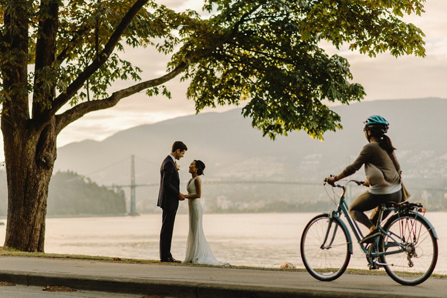unique stanley park elopement