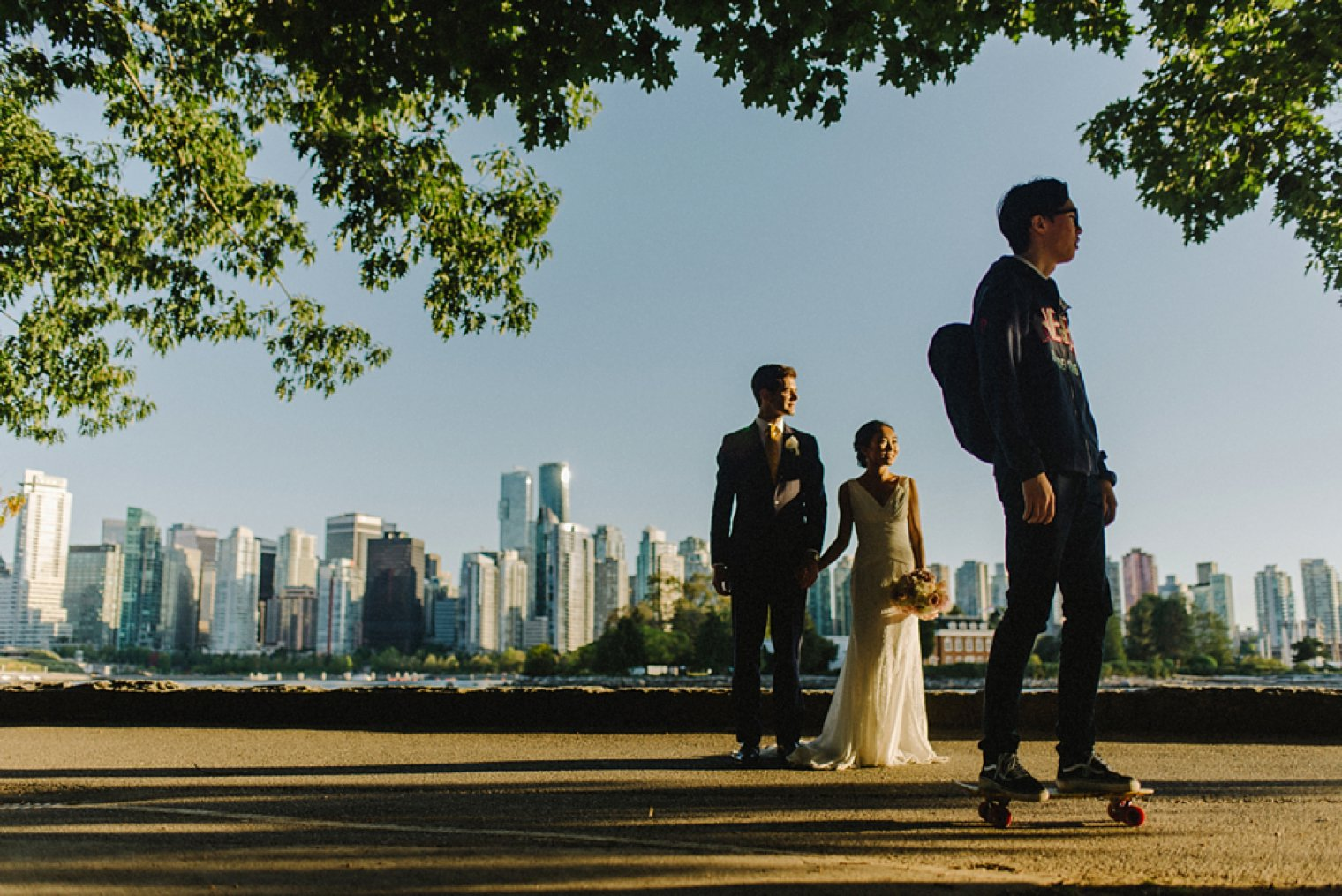 unique vancouver seawall wedding