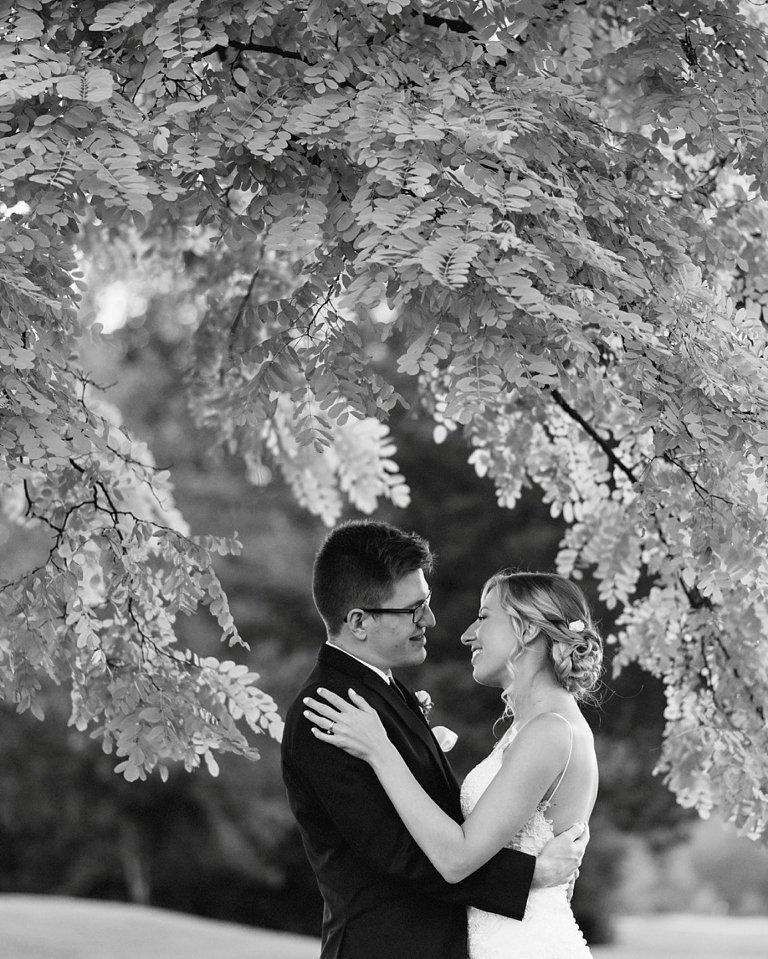 swaneset wedding portrait