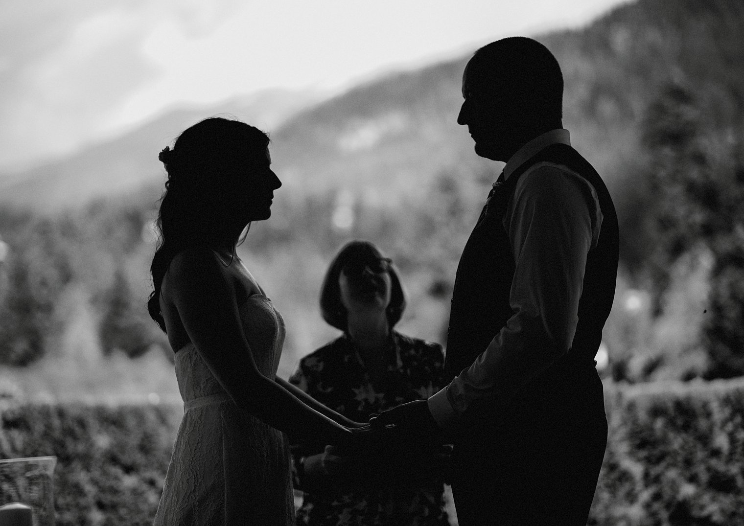 outdoor whistler wedding ceremony
