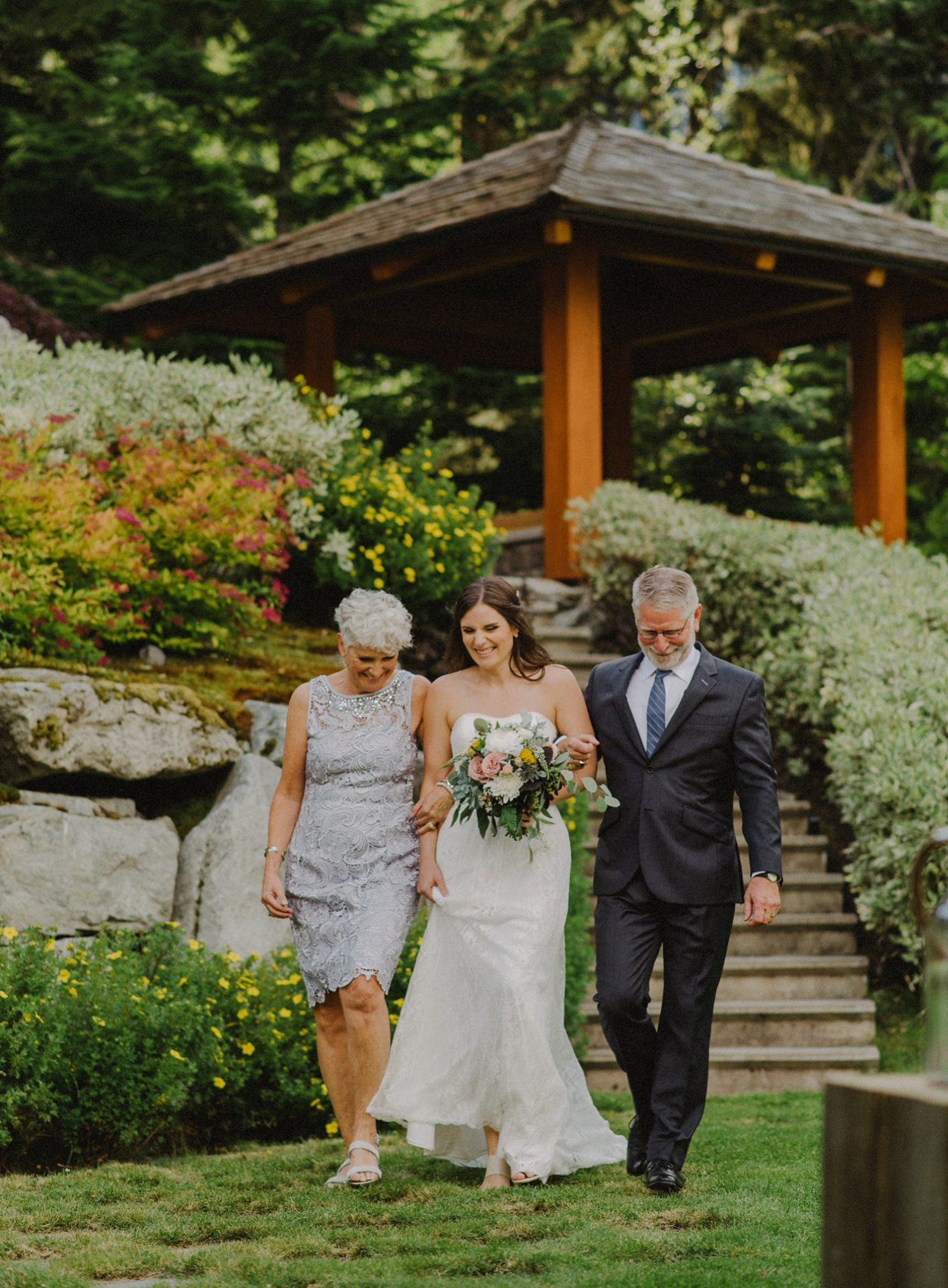 wedding at private mansion in whistler