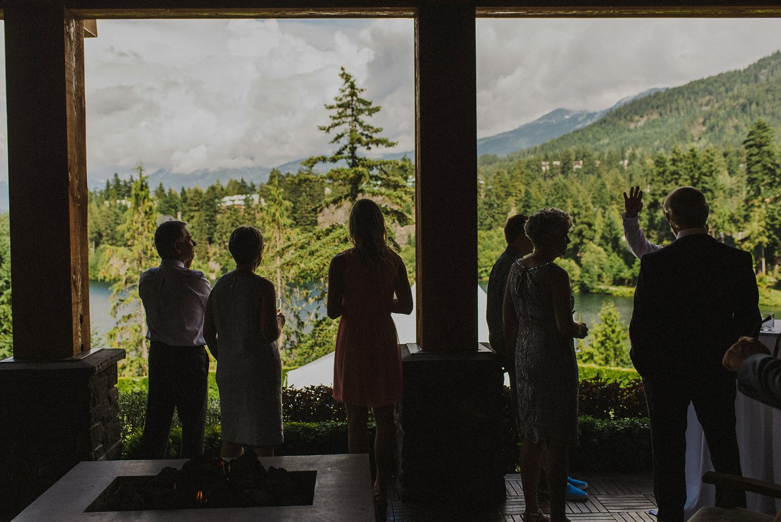 unique whistler wedding