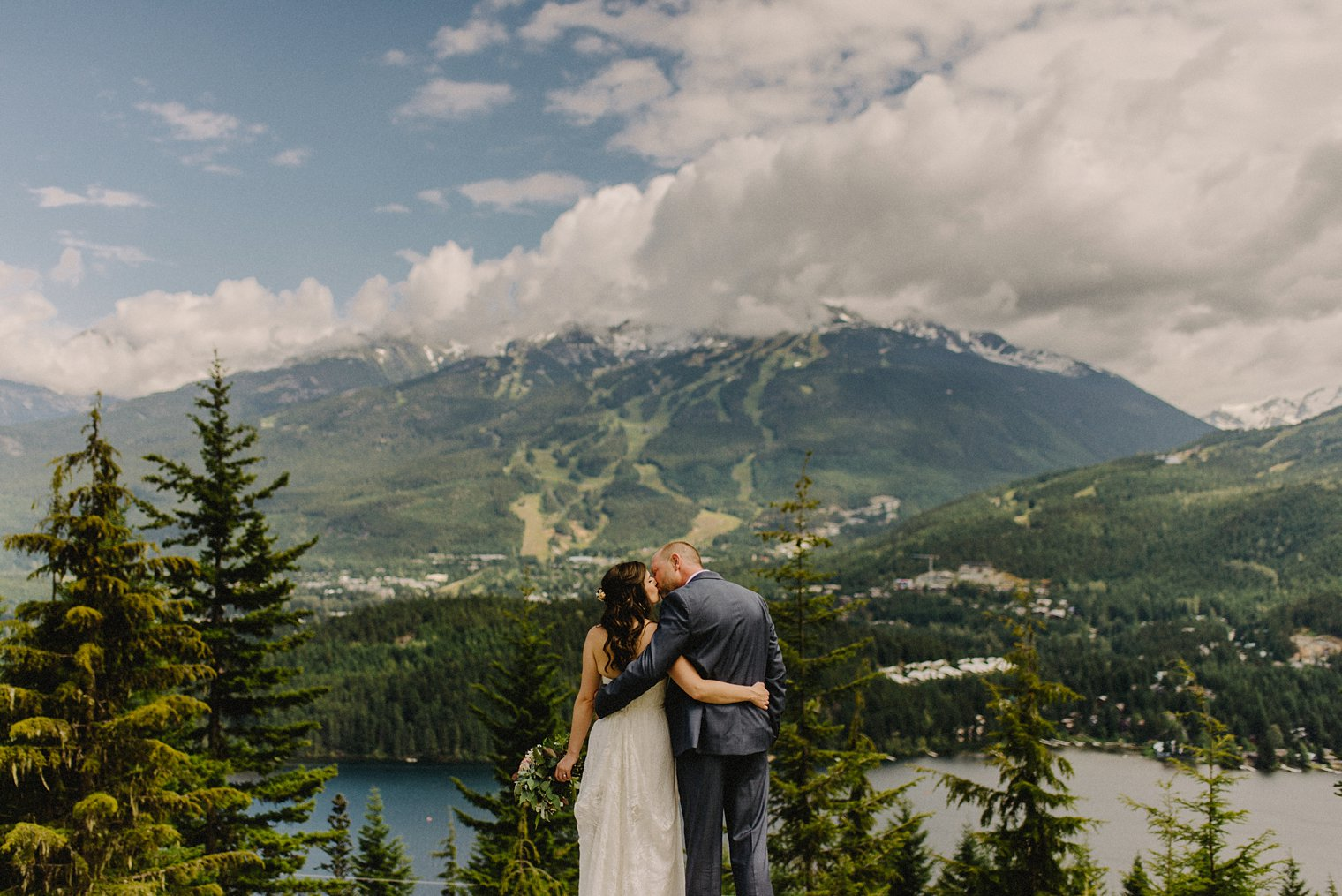 unique whistler wedding portrait location