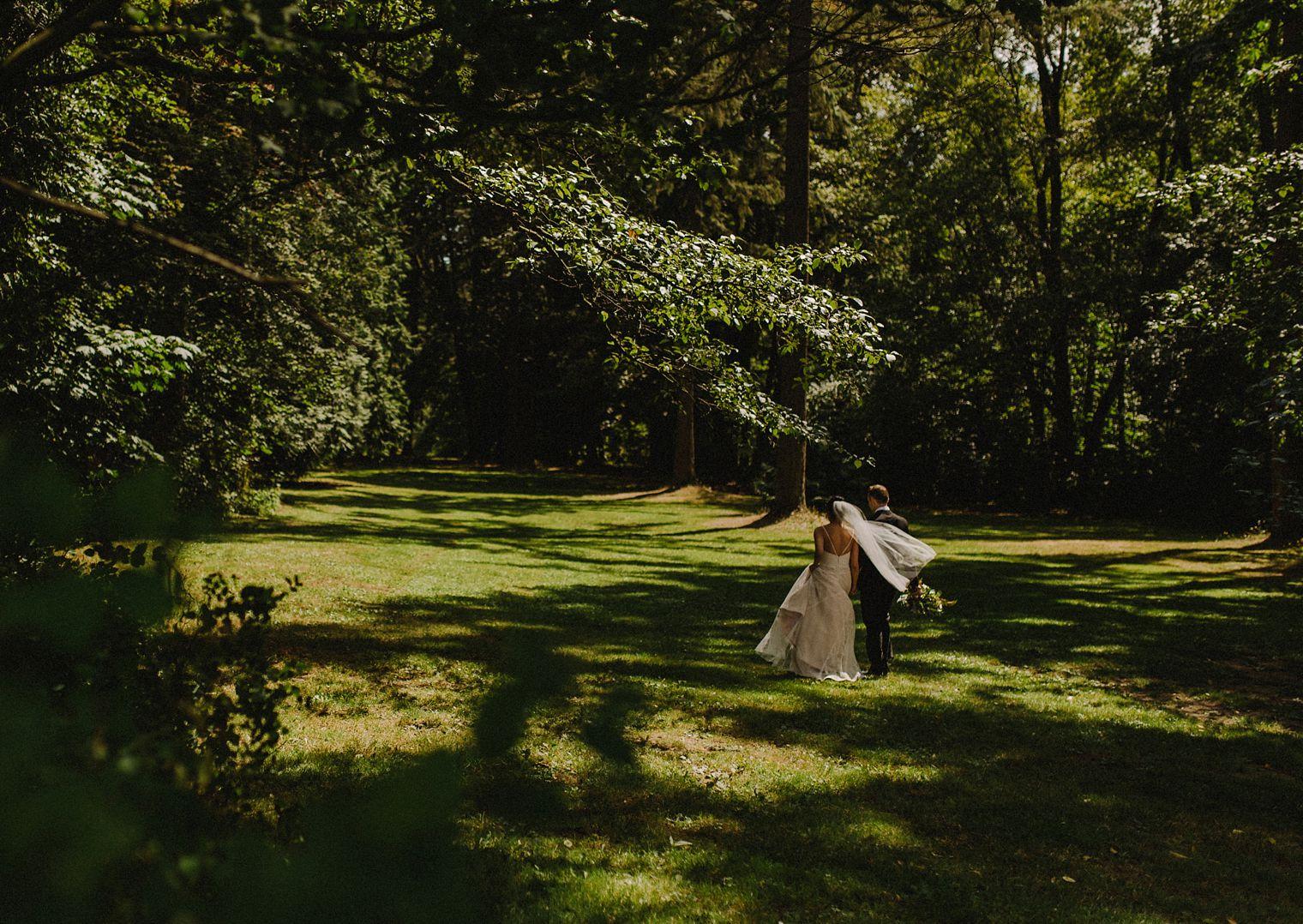 kerrisdale wedding portrait