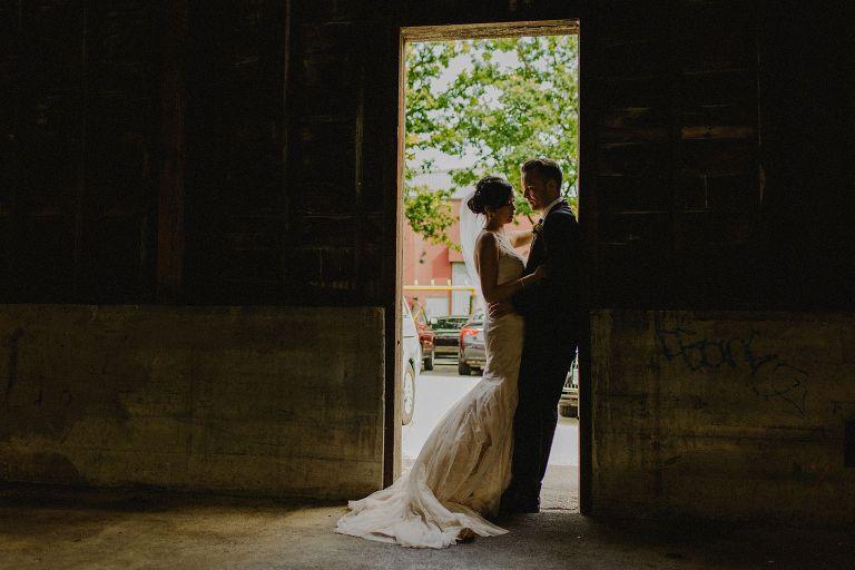 vancouver parking garage wedding