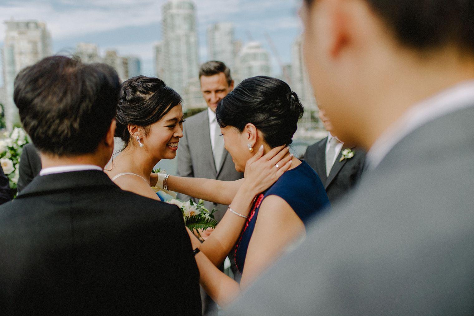 bridges restaurant patio wedding
