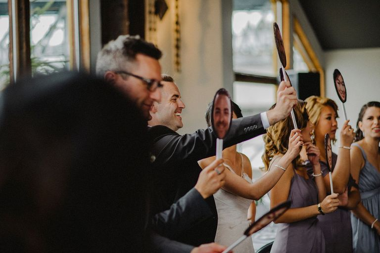 wedding reception at bridges restaurant in vancouver