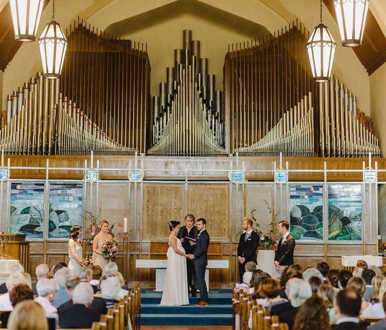 historic vancouver church wedding