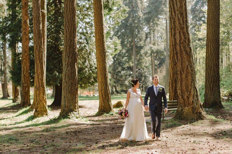 marine drive park wedding photos