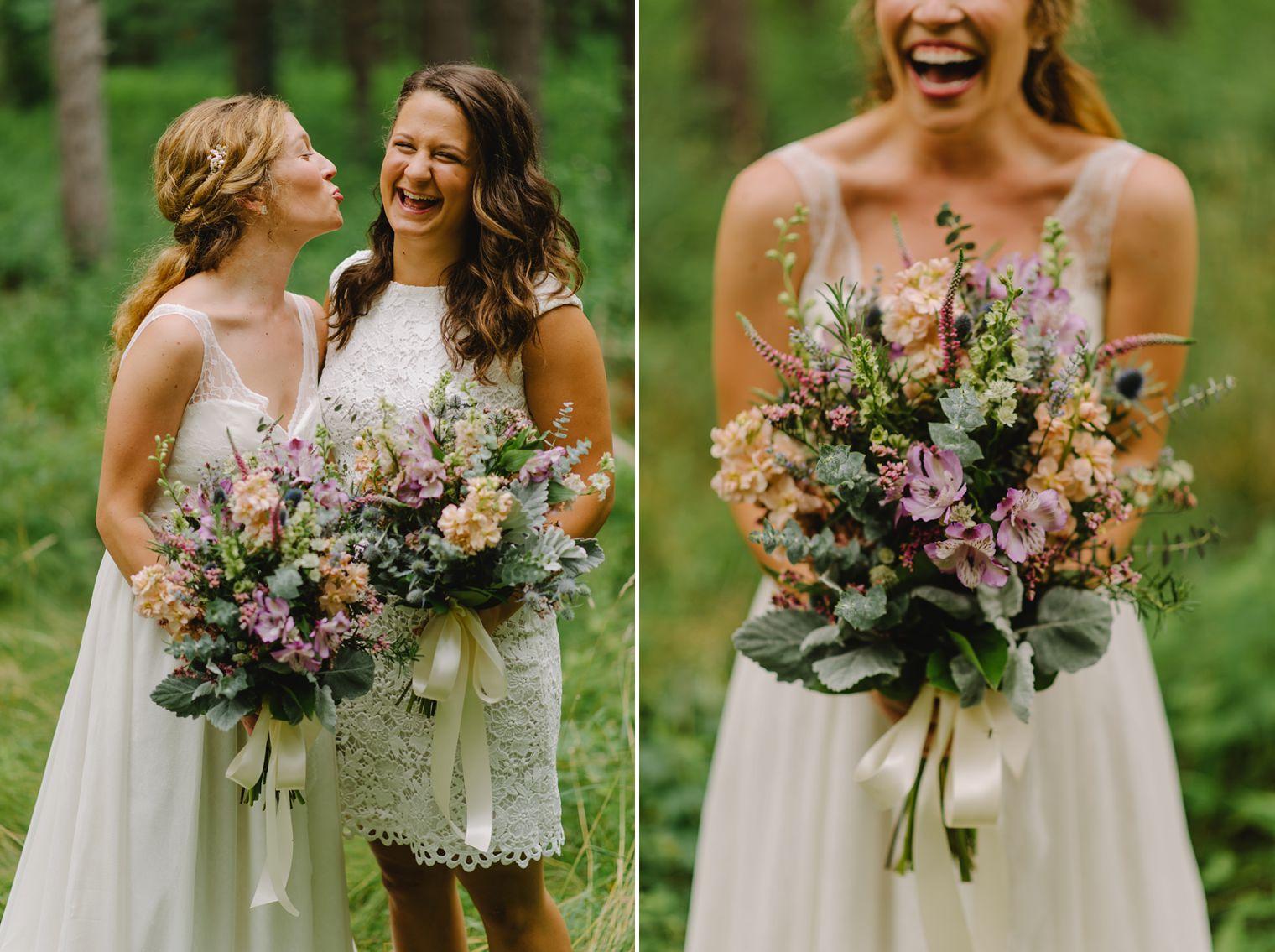 Occonomowoc wildflower wedding