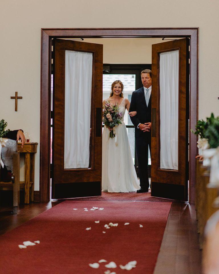 Occonomowoc wedding ceremony
