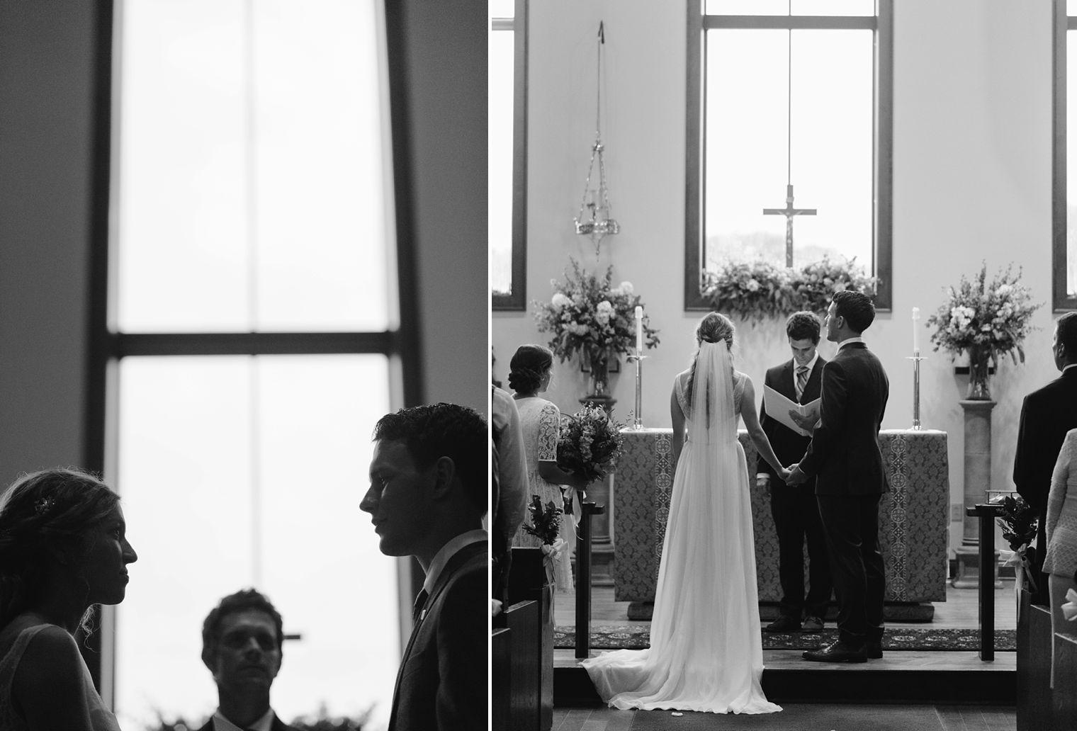 church wedding ceremony in wisconsin