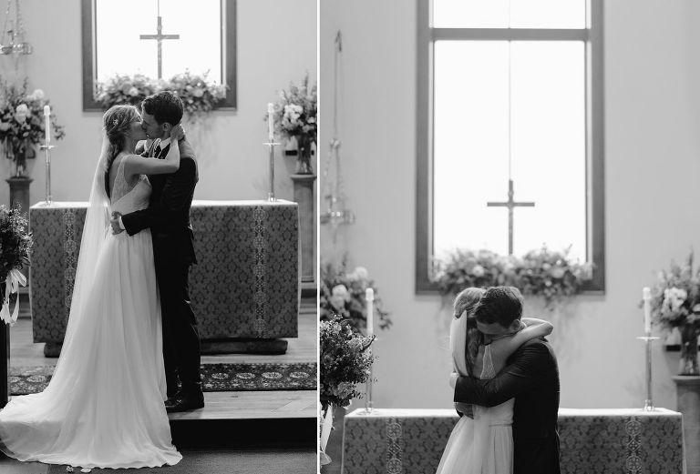 wedding at st marys church in dousman