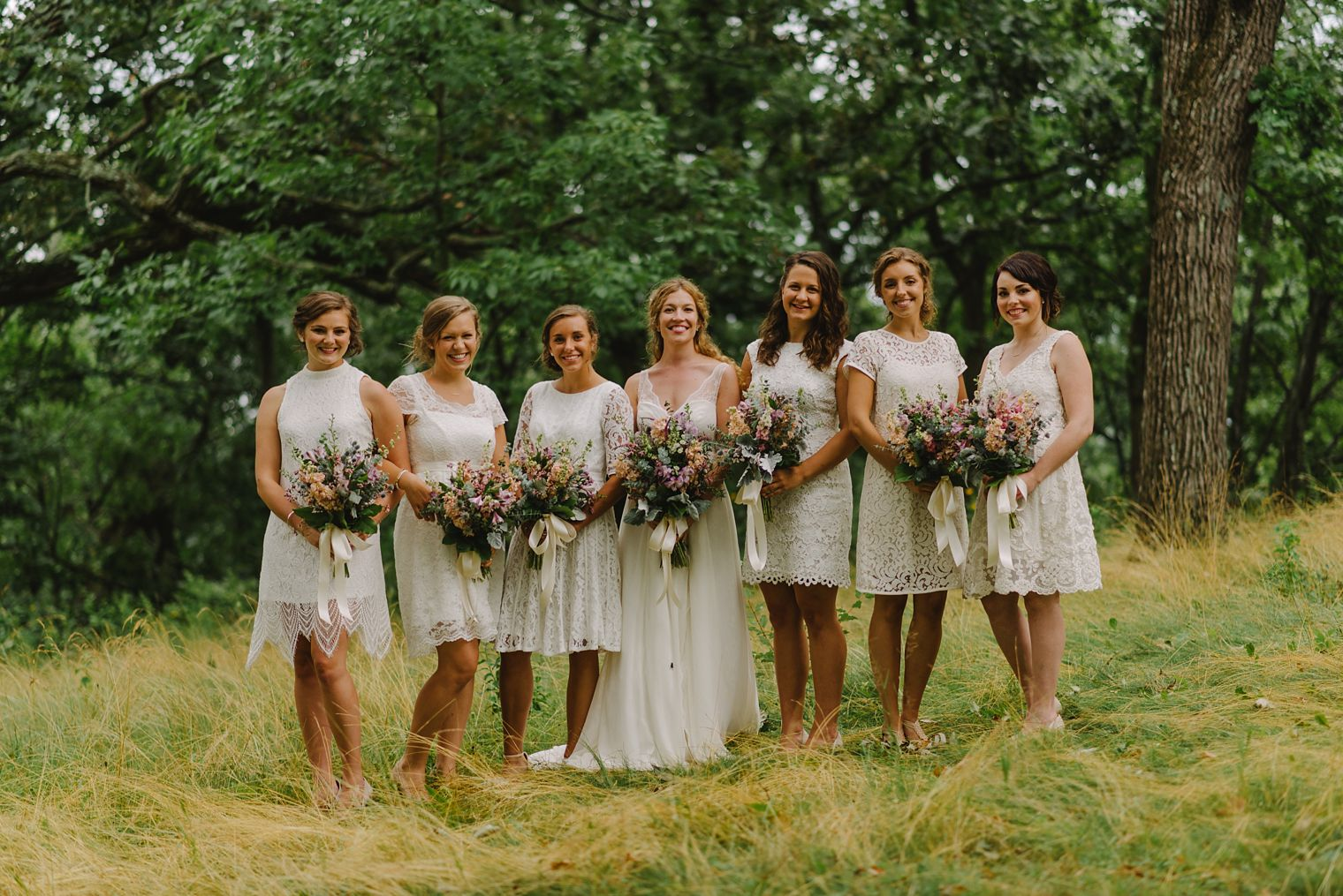 wisconsin lake country wedding