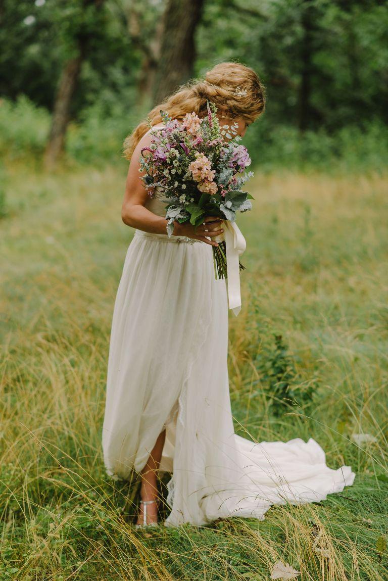 Occonomowoc bride portrait