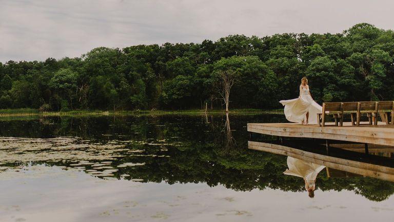 wisconsin lake wedding