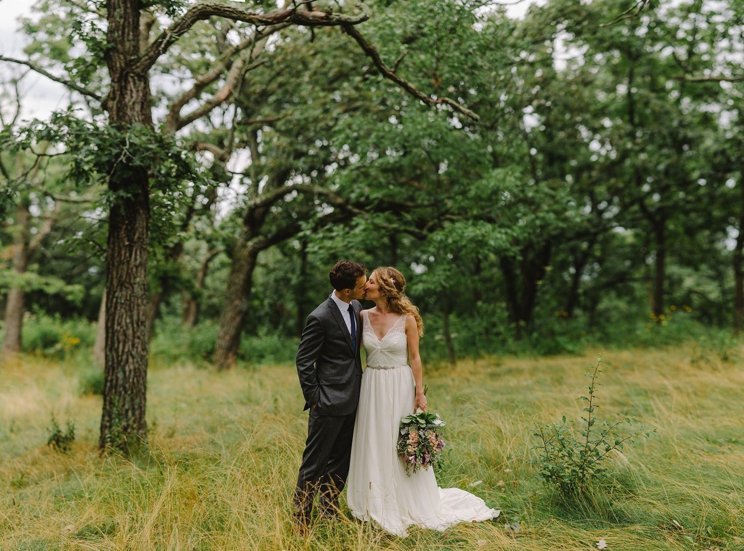 Occonomowoc wedding portrait
