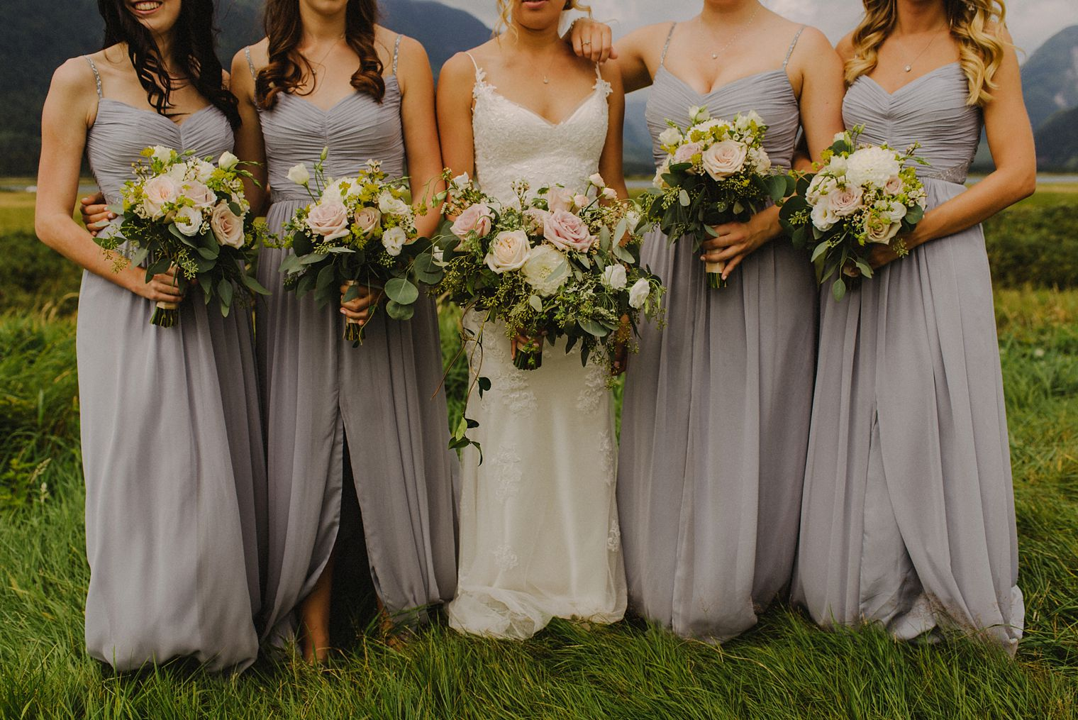 pitt lake bridesmaids