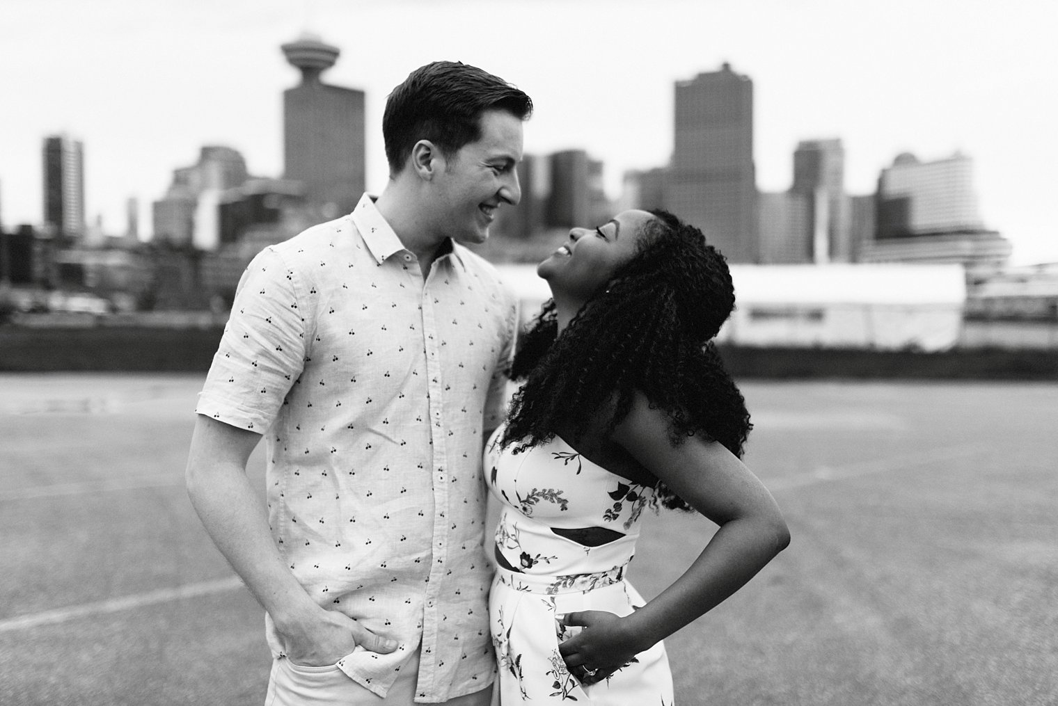 vancouver skyline engagement