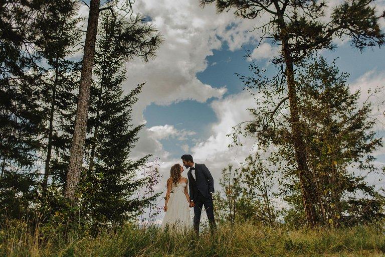 unique kelowna wedding photos
