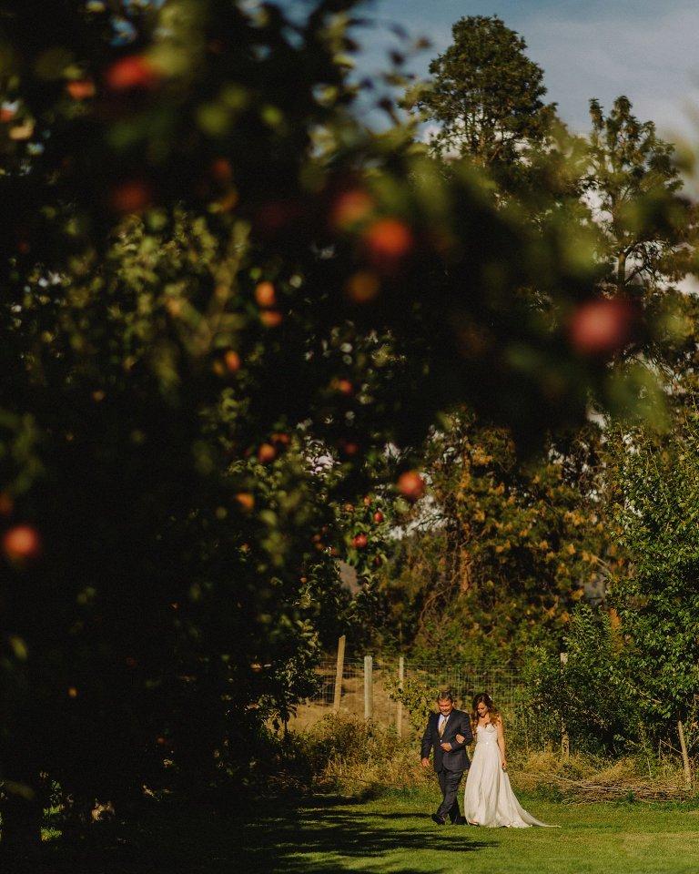 private residence wedding in kelowna