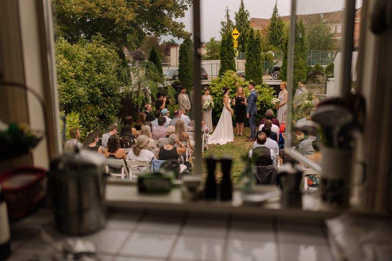 backyard wedding in vancouver