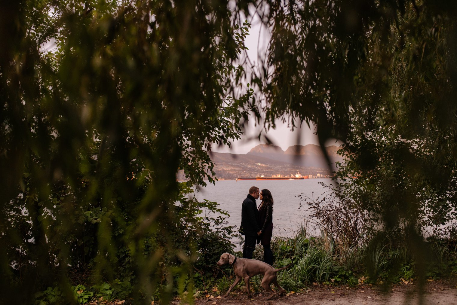 unique jericho beach engagement photos