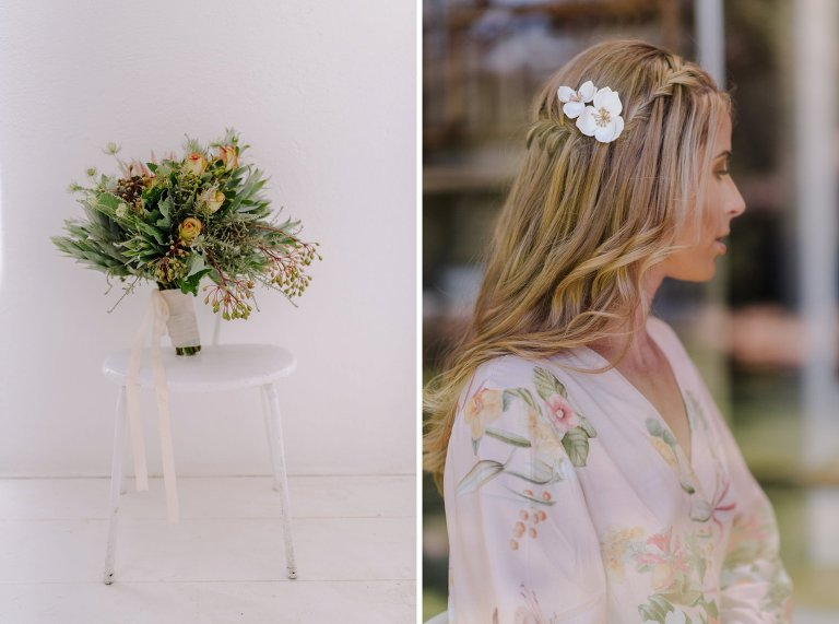 unique bridal details at babylonstoren
