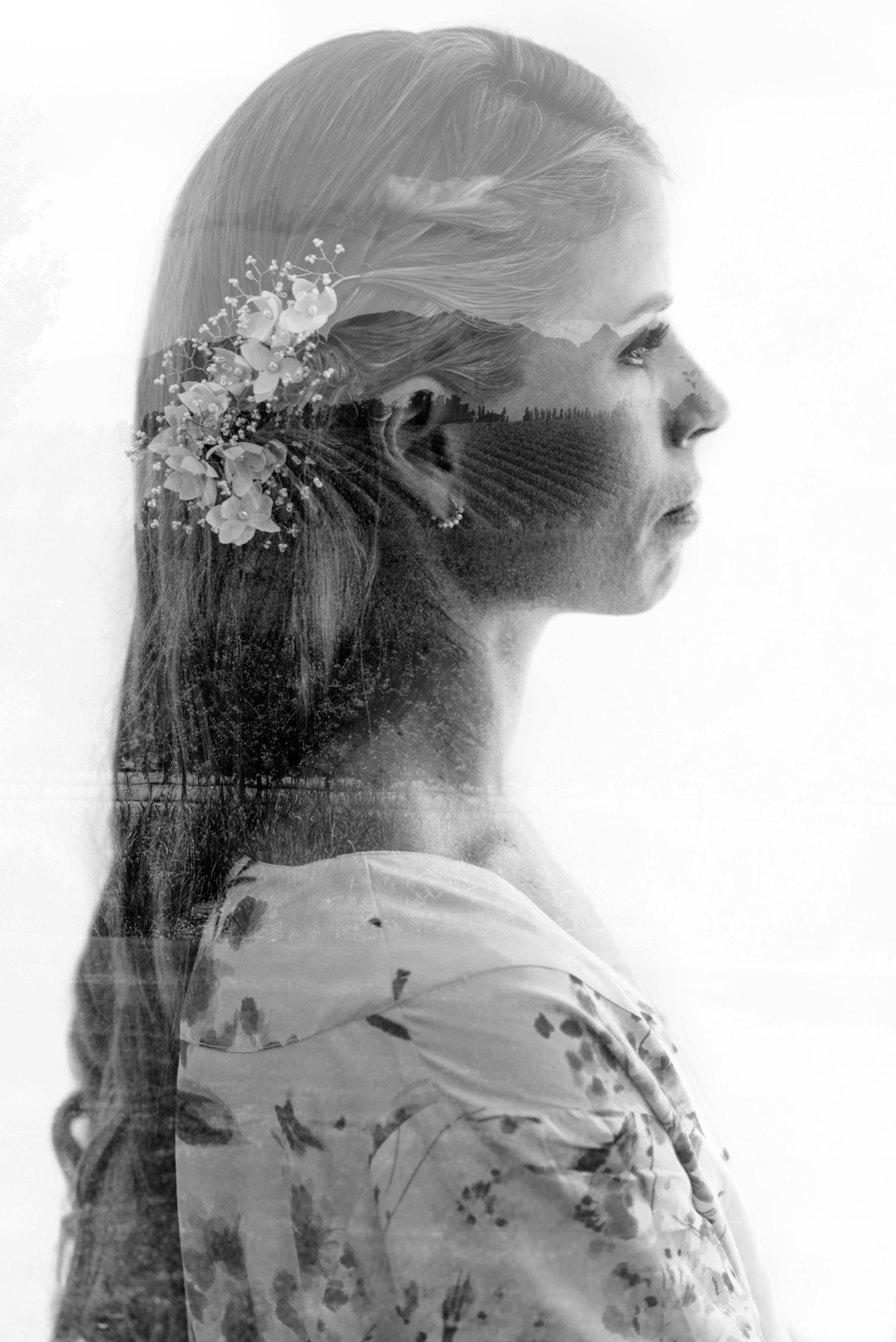 bridal portrait at babylonstoren